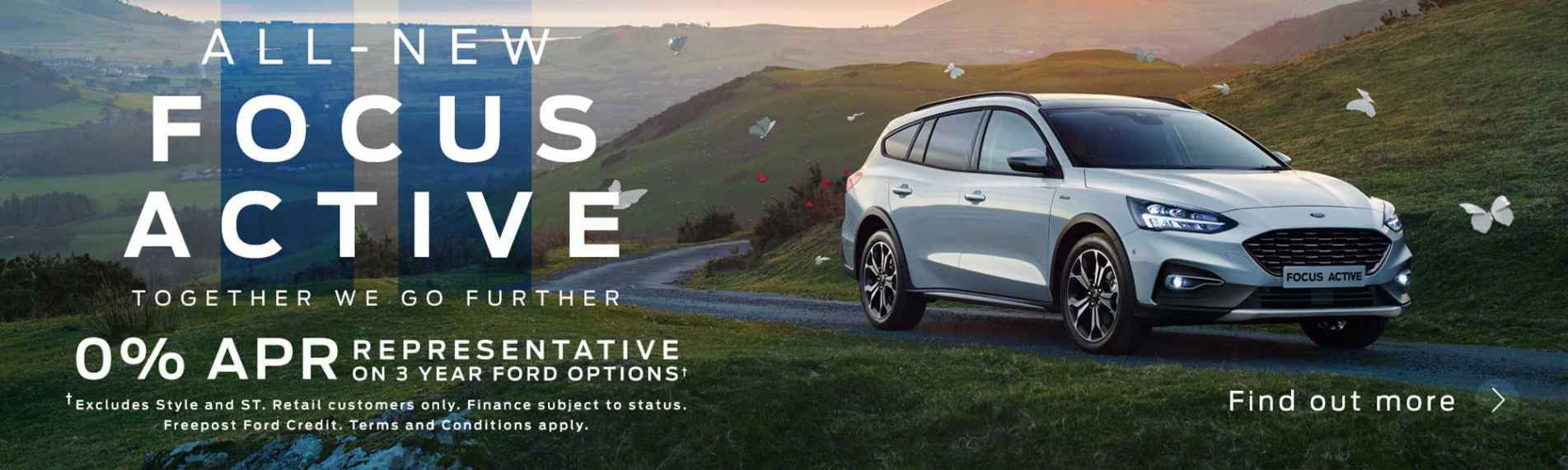 Ford Focus Active Banner