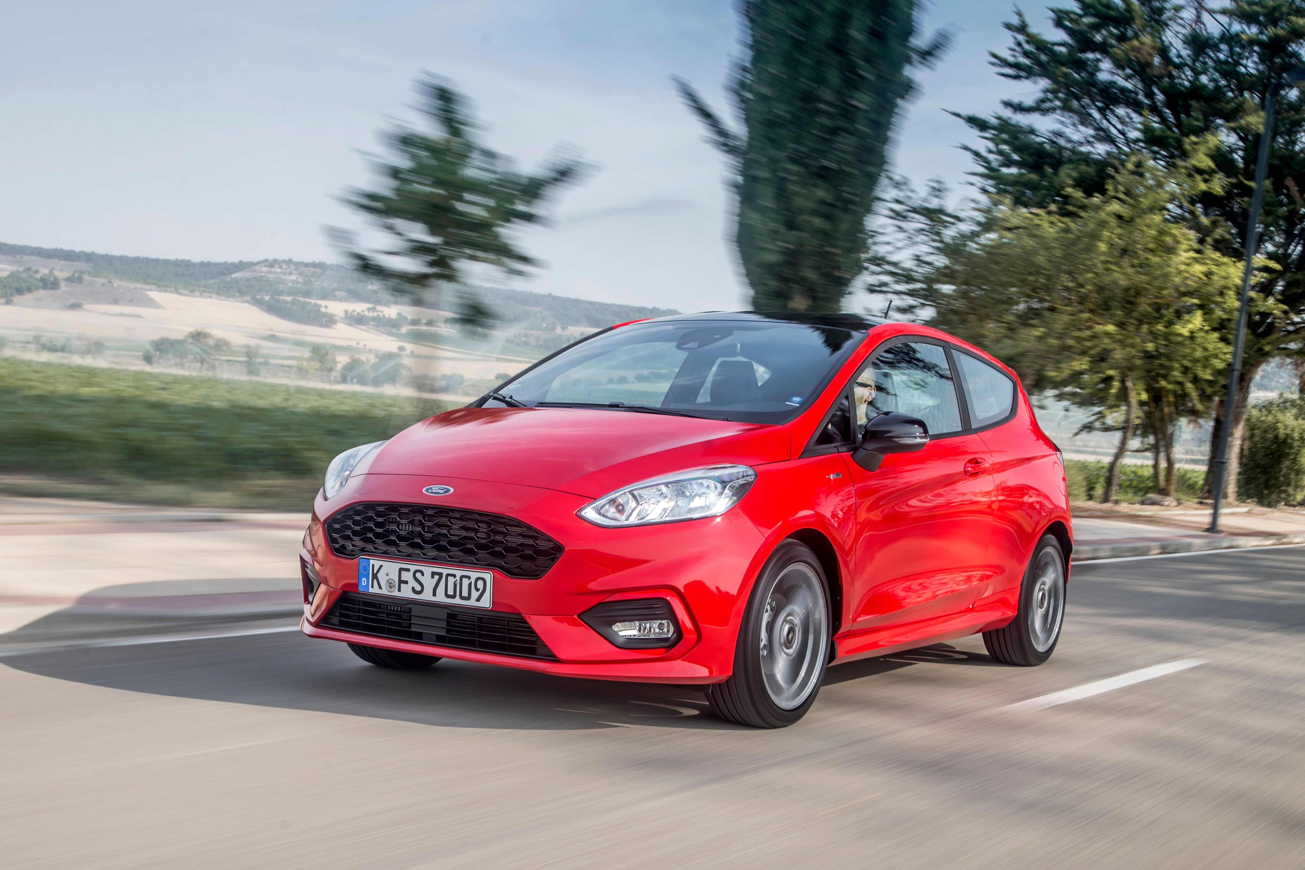 Get behind the wheel of the sporty Fiesta ST-Line for less than you think…