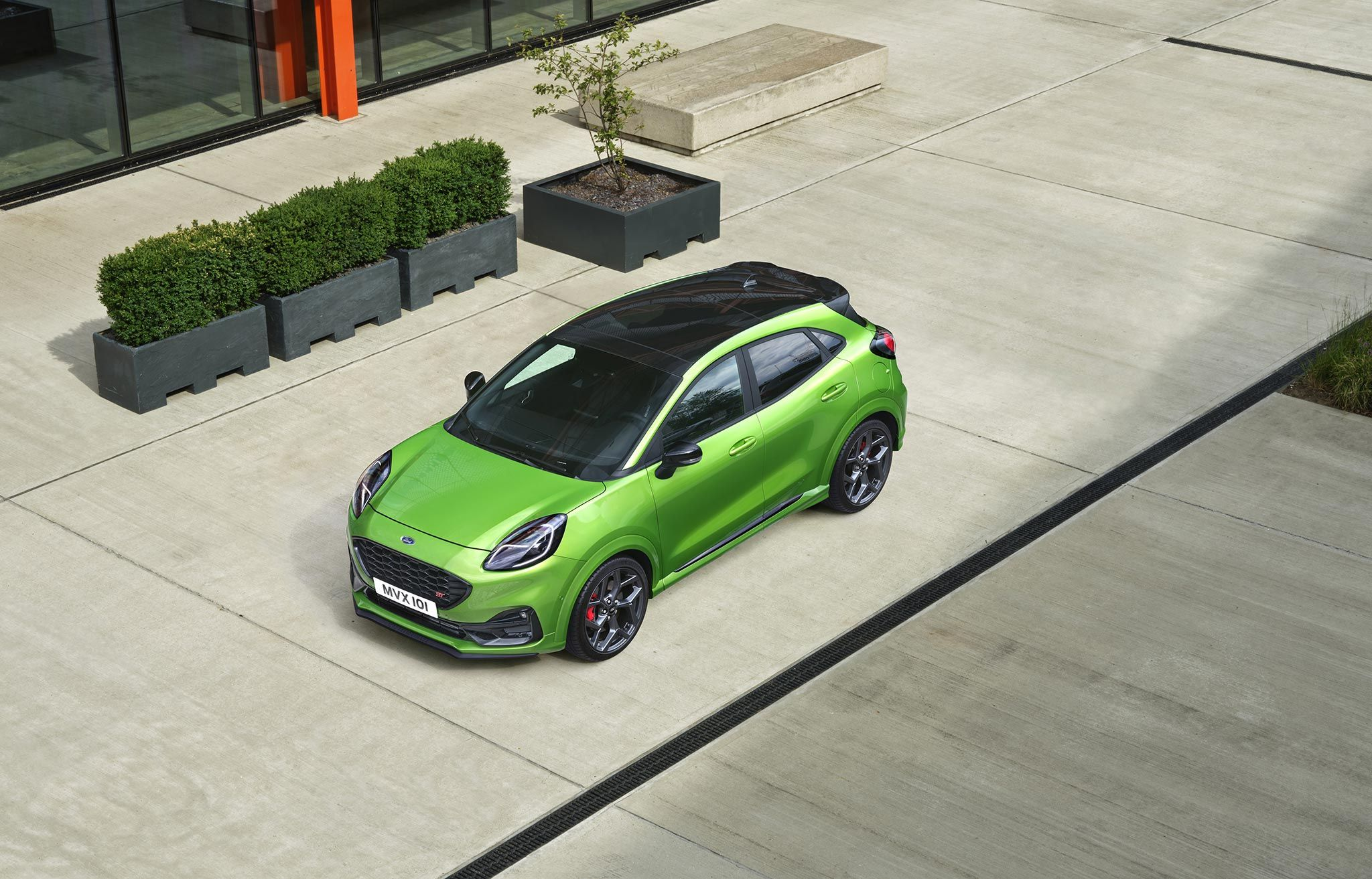 Mean Green - The New Ford Puma ST at Cuff Miller