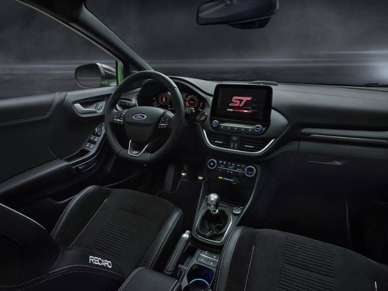 New Ford Puma ST in Mean Green at Cuff Miller Recaro Interior
