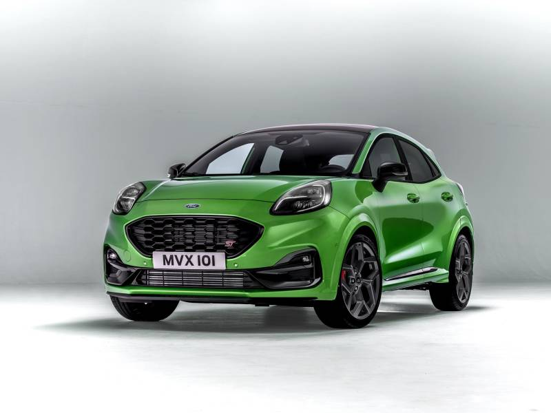 New Ford Puma ST in Mean Green at Cuff Miller